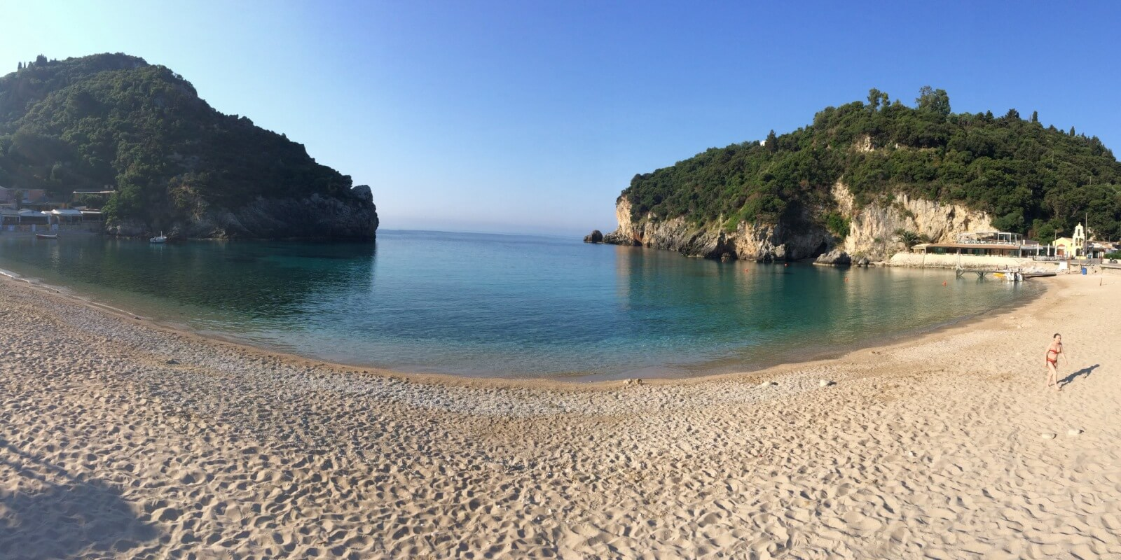 Palaiokastritsa beach