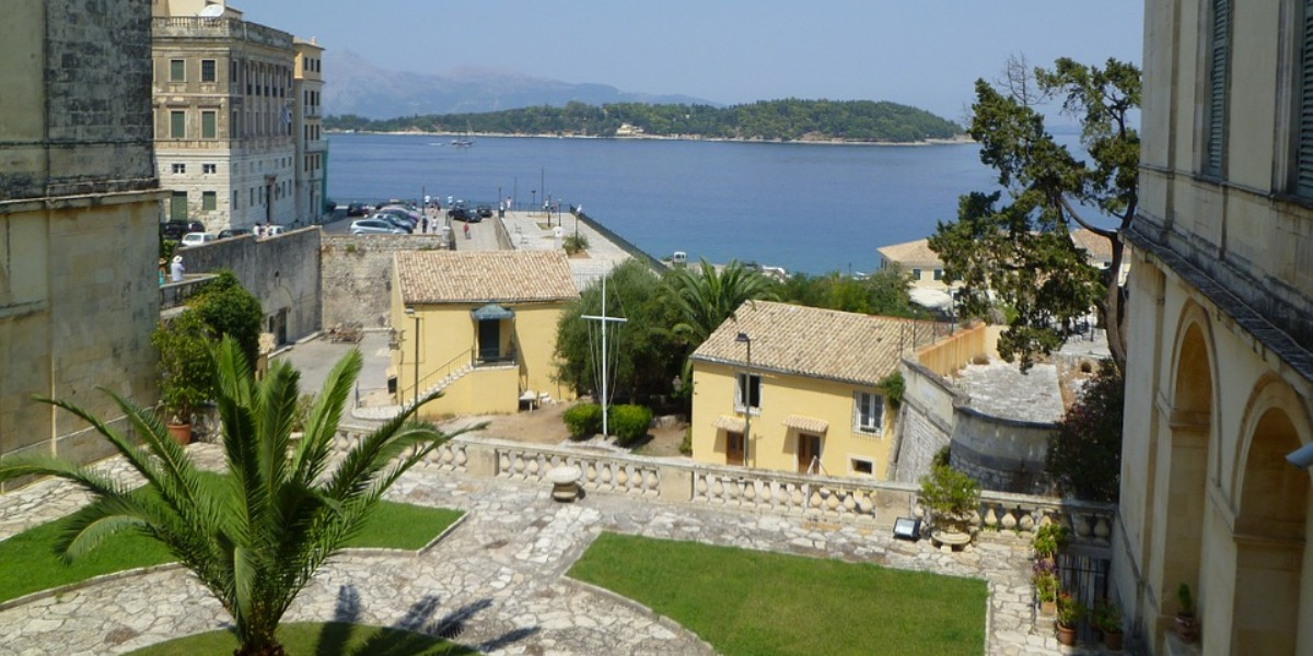 Corfu villages